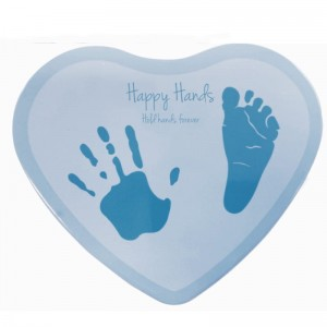 Odcisk Heart blue Happy Hands